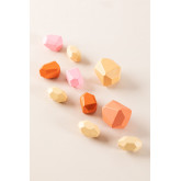 Piedras de Madera para Apilar Petri Kids, imagen miniatura 2