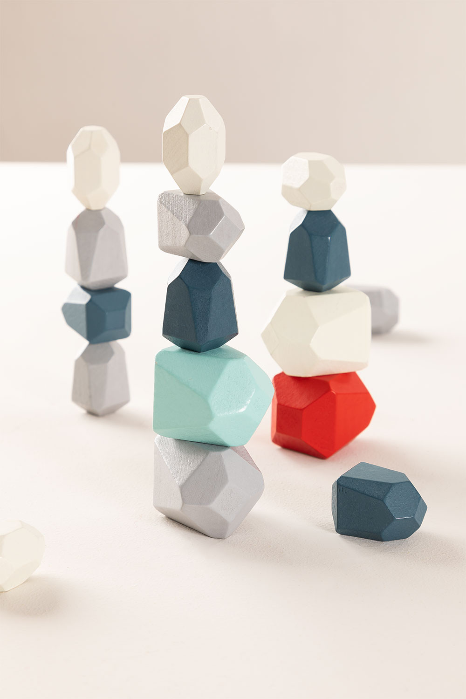 Piedras de Madera para Apilar Mepis Kids, imagen de galería 855305