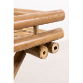 Mesa Auxiliar Plegable con Bandeja en Bambú Wallis, imagen miniatura 6