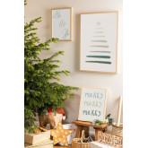 Set de 3 Láminas Decorativas de Navidad (50x70 y 30x40 cm) Belene, imagen miniatura 1