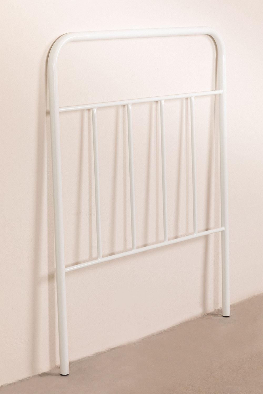 Cabecero de Cama de 90 cm en Metal Nebi Kids, imagen de galería 1