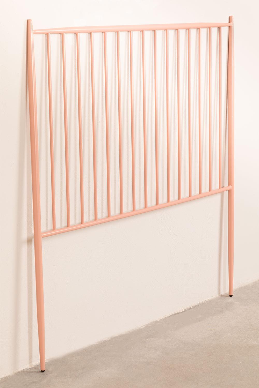Cabecero de Cama de 135 cm en Metal Nebi, imagen de galería 1