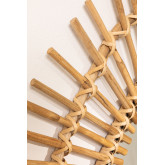 Espejo de Pared Triangular en Bambú (56x56 cm) Aube, imagen miniatura 3