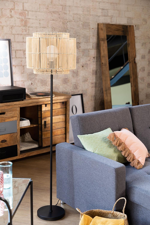 Lámpara de Pie en Bambú Kapua , imagen de galería 1
