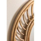 Espejo de Pared Redondo en Bambú (Ø50 cm) Bleah, imagen miniatura 3