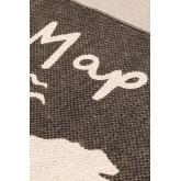 Alfombra en Algodón (180x120 cm) Map , imagen miniatura 3