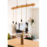 Lámpara de Techo Silian Natural , imagen miniatura 1