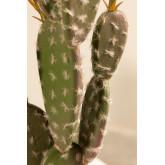 Cactus Artificial con Flores Opuntia, imagen miniatura 4