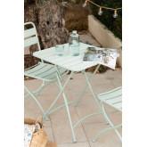Mesa de Jardín Plegable en Acero (60x60 cm) Janti, imagen miniatura 1