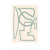 Set de 3 Láminas Decorativas (50x70 y 30x40 cm) Donna, imagen miniatura 4