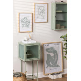 Set de 3 Láminas Decorativas (50x70 y 30x40 cm) Donna, imagen miniatura 1