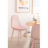 Silla de Comedor en Terciopelo Glamm Colors  , imagen miniatura 1