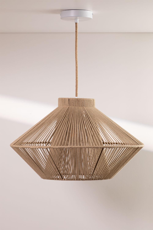Lámpara de Techo en Cuerda de Algodón Ufo, imagen de galería 1