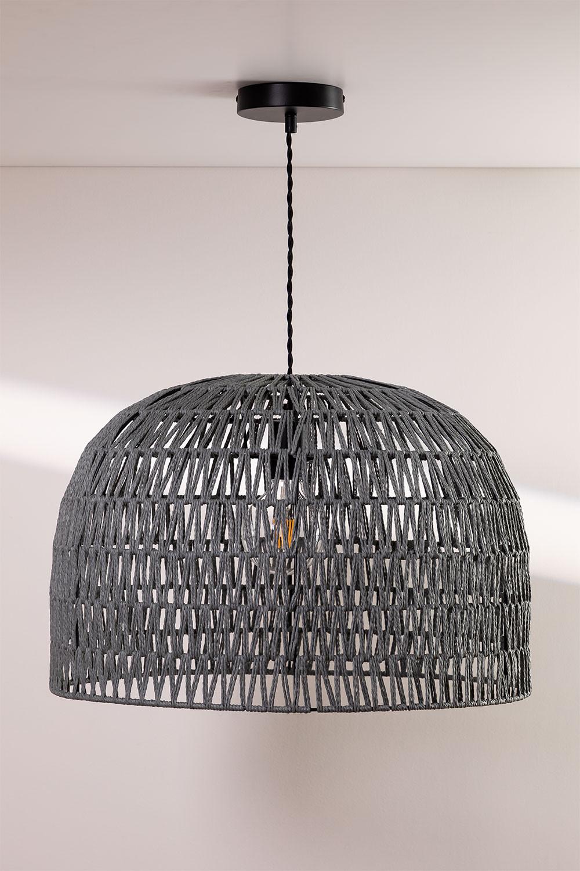 Lámpara de Techo en Papel Trenzado Mylo, imagen de galería 1