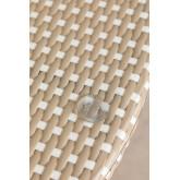 Mesa de Jardín Redonda en Mimbre Sintético (Ø80 cm) Alisa, imagen miniatura 3