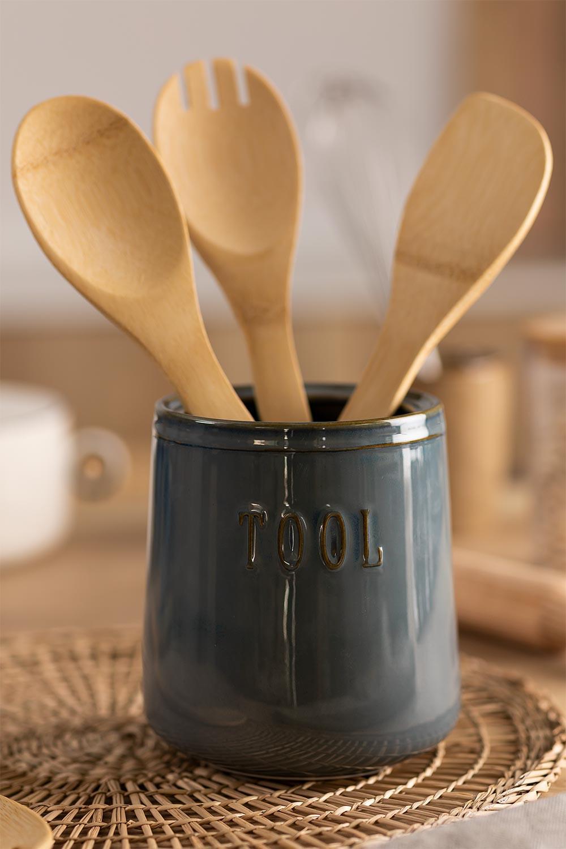 Bote con Utensilios de Cocina Treska, imagen de galería 1