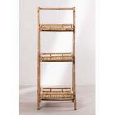Estantería 3 Baldas en Bambú Oki, imagen miniatura 4