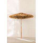 Sombrilla de Acero (Ø200 cm) Rhos, imagen miniatura 2