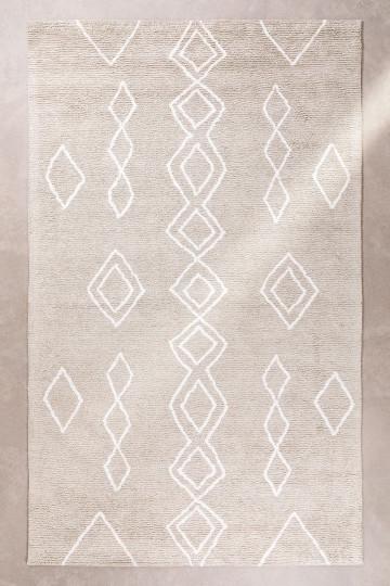 Alfombra en Algodón (300x185 cm) Kirvi