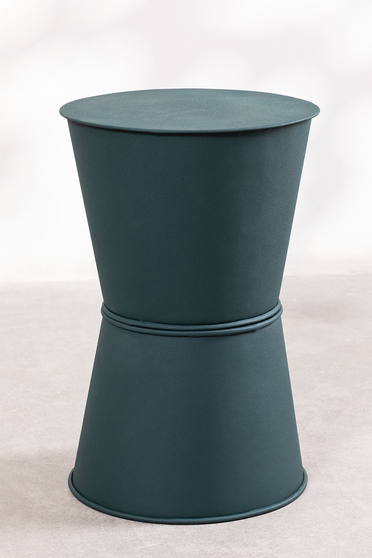 Mesa Auxiliar Redonda en Metal (Ø33 cm) Albi , imagen de galería 1