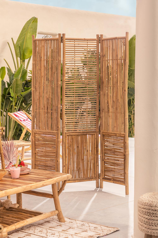 Biombo en Bambú Clint, imagen de galería 1