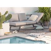 Sofá de exterior reclinable Libanc, imagen miniatura 2