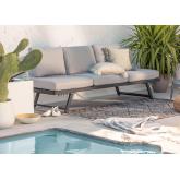 Sofá de exterior reclinable Libanc, imagen miniatura 1