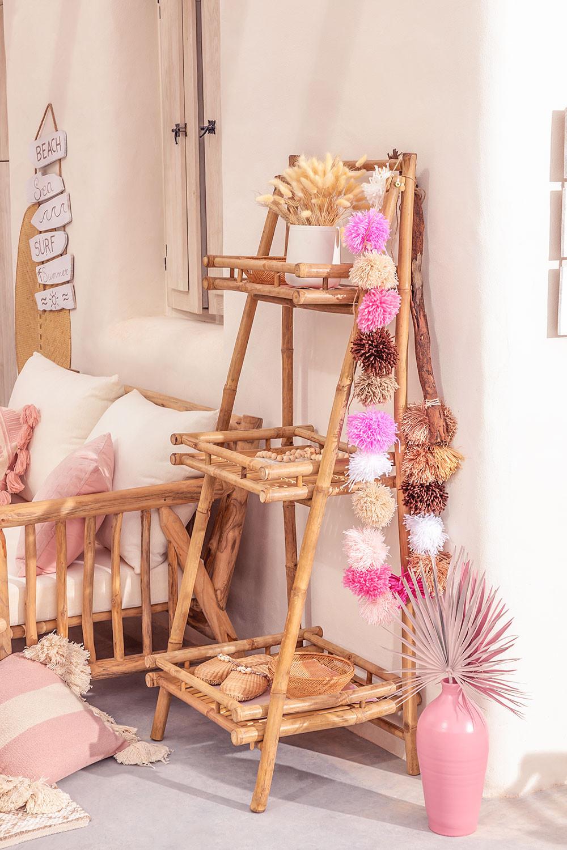 Estantería 3 Baldas en Bambú Oki, imagen de galería 1