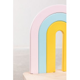 Banco en Madera Mini Rainbow Kids , imagen miniatura 5