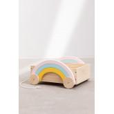 Carrito con Almacenaje Rainbow Kids, imagen miniatura 2