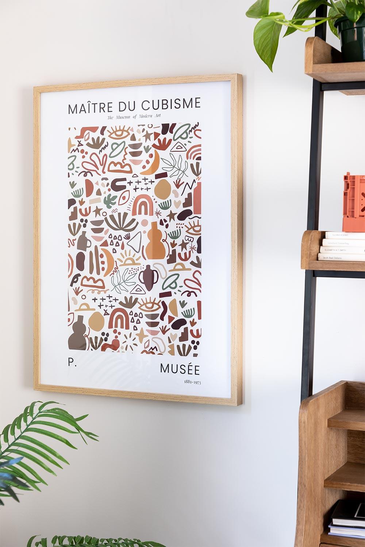 Lámina Decorativa (50x70 cm) Muse, imagen de galería 1