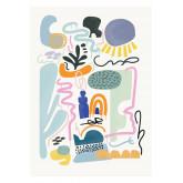 Set de 2 Láminas Decorativas (50x70 cm) Zity, imagen miniatura 3