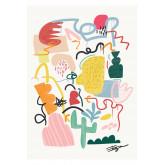 Set de 2 Láminas Decorativas (50x70 cm) Varmy, imagen miniatura 2