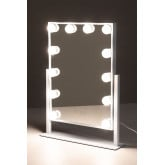Espejo de Maquillaje con Luz LED Hollywood, imagen miniatura 1