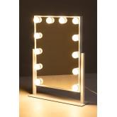 Espejo de Maquillaje con Luz LED Hollywood, imagen miniatura 3