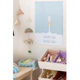 Lámina Decorativa (50x70 cm) Koet Kids, imagen miniatura 1