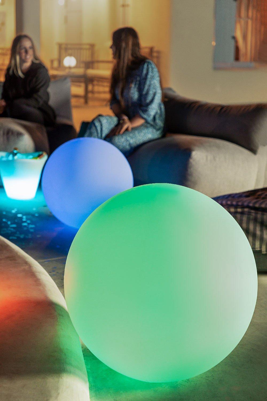 Lámpara de Suelo Led para Exterior Esfera, imagen de galería 1