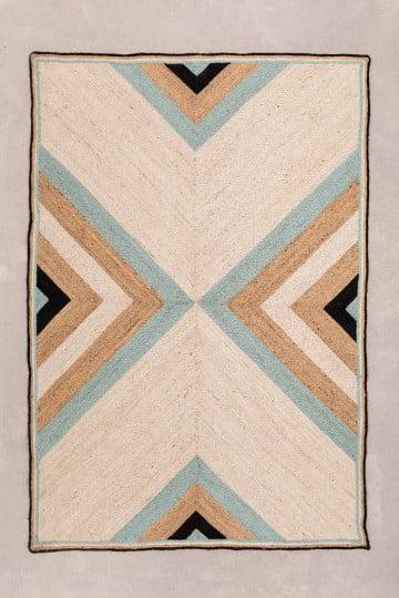Alfombra en Yute Natural (246x160 cm) Saina