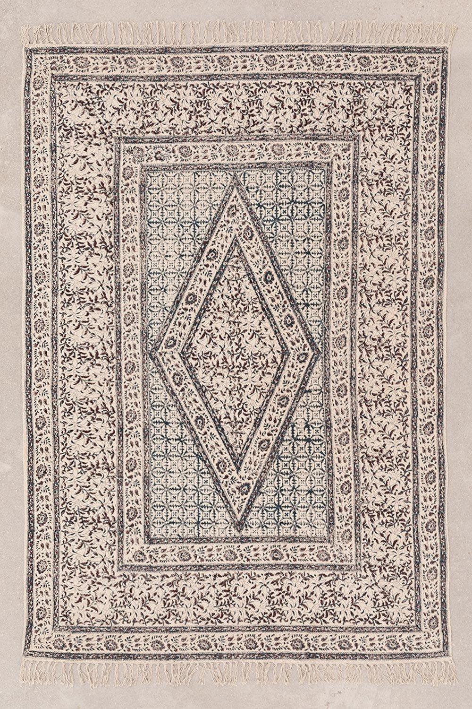Alfombra en Algodón (182x122 cm) Kunom, imagen de galería 1