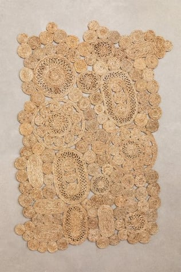 Alfombra en Yute Natural (205x130 cm) Syrah