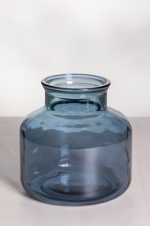 Jarrón en Vidrio Reciclado Esko, imagen de galería 1