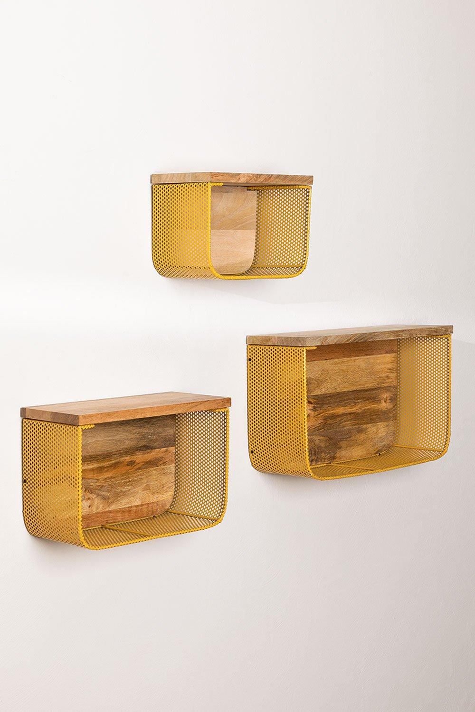 Conjunto de Estantes de Pared Byme, imagen de galería 1