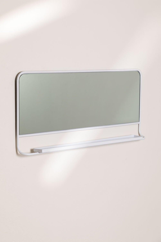 Espejo de Pared Rectangular con Balda (50x110 cm) Rëch, imagen de galería 1