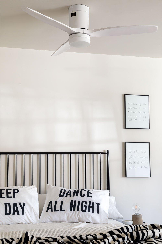 WINDCALM DC STYLANCE WHITE - Ventilador de Techo con Luz - Create, imagen de galería 1