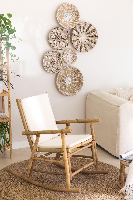 Mecedora en Bambú Livia, imagen de galería 1