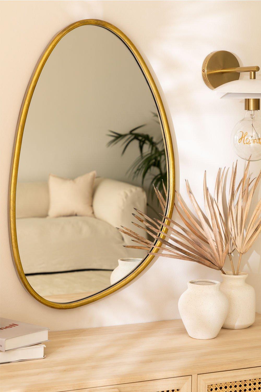 Espejo de Pared en Metal Flora, imagen de galería 1