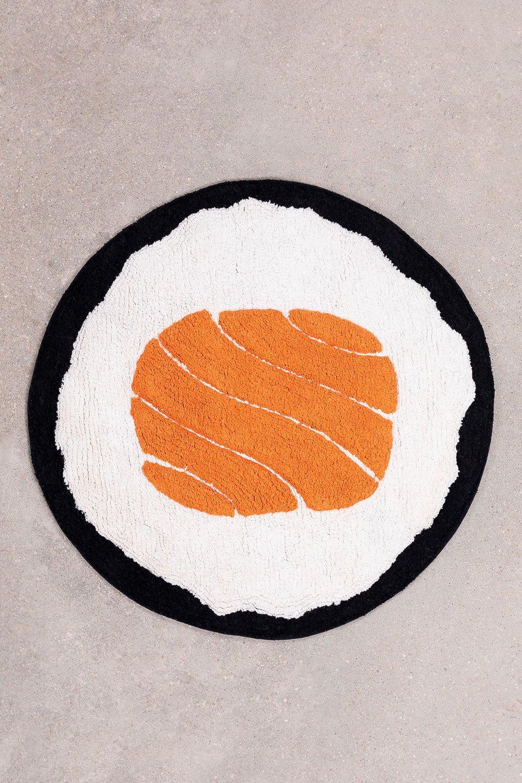 Alfombra para Baño en Algodón (Ø61 cm) Sushi, imagen de galería 1