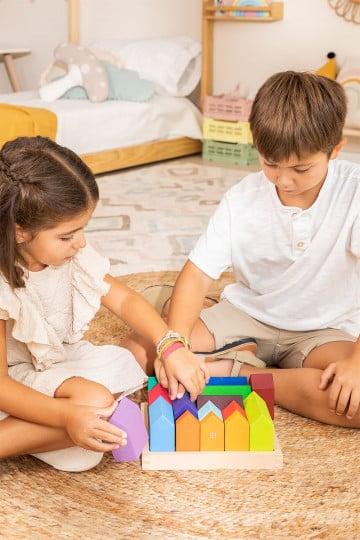 Rompecabezas de Madera Ciudad Kids