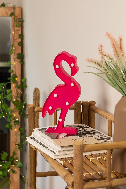 Lámpara LED de Mesa Flamenco, imagen de galería 1