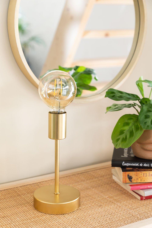 Lámpara de Mesa en Metal Grystel, imagen de galería 1